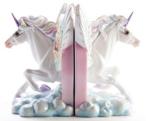 Homewares - Flying Unicorn Bookends - Buy Online Australia Beserk