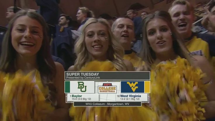 NCAAB 01 10 2017 Baylor at West Virginia 720p60 - YouTube