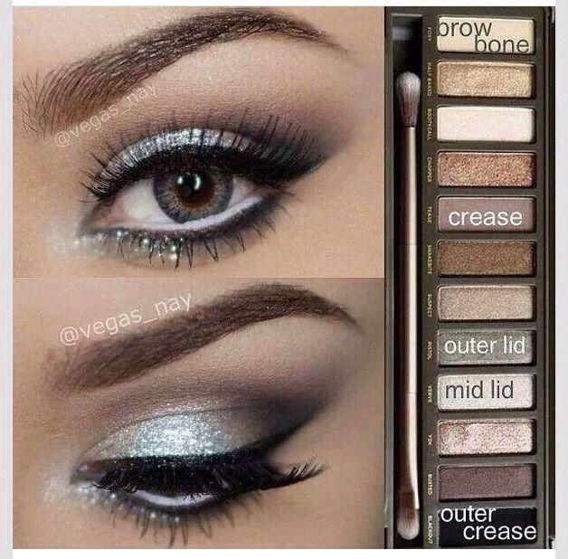 Naked 2 Eye Shadow Tutorial!!❤️