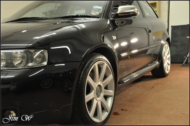 Audi S3 (8L) in black. Major Paint Correction.