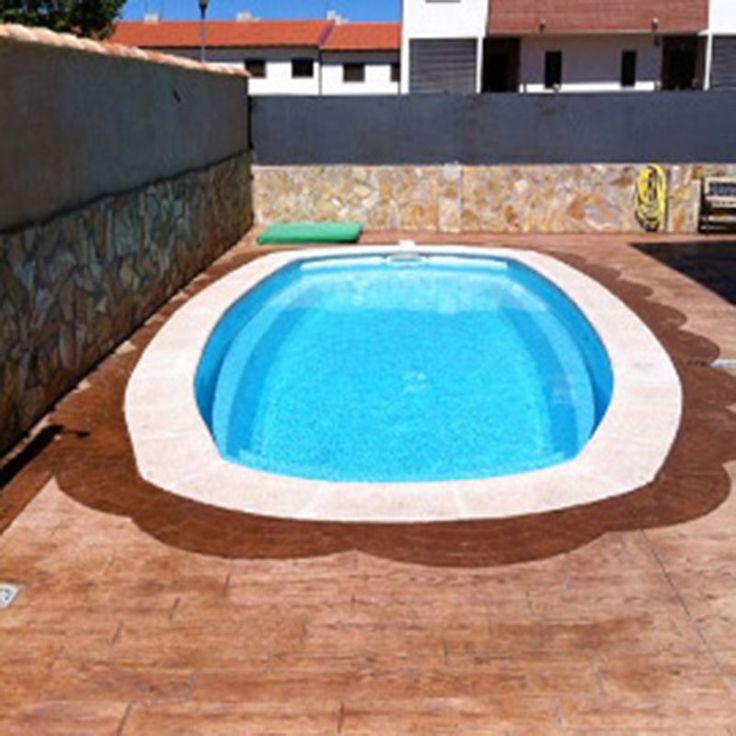 Esta piscina, como su nombre indica, simboliza las curvas elegantes de una mujer. Aprovéchala este verano!!