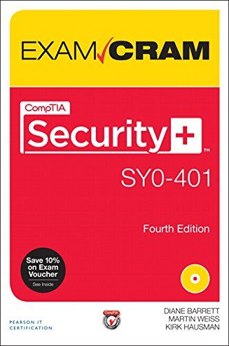 CompTIA Security+ SYO-401 Exam Cram (4th Edition)  Comptia Security Sy0 401 Exam Cram Exam Cram Pearson