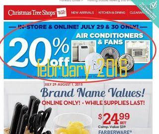 free printable coupons christmas tree shops coupons - Christmas Tree Shop Printable Coupon