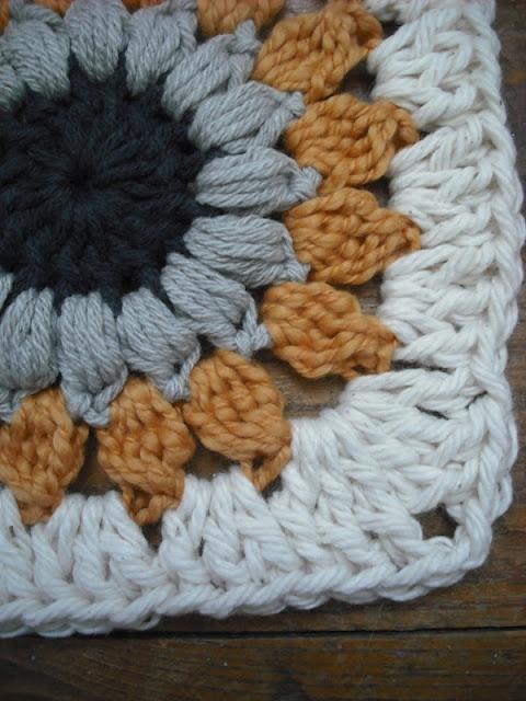 Purple Chair Crochet: Sunburst Granny Square (Free Pattern!)