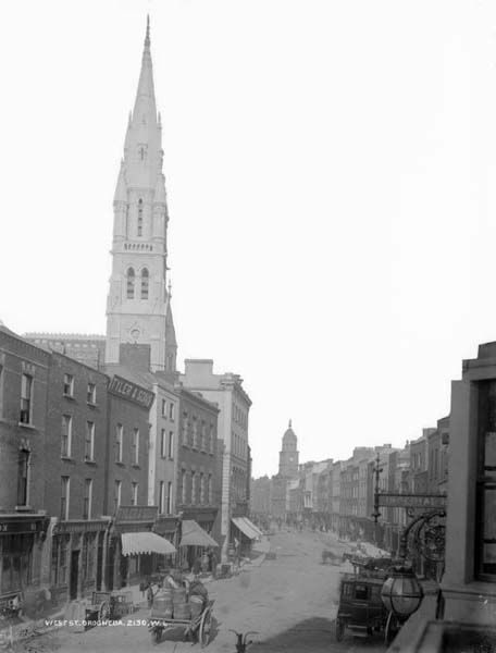 West St., Drogheda by French, Robert, 1841-1917 photographer Published / Created: [between ca. 1880-1900].