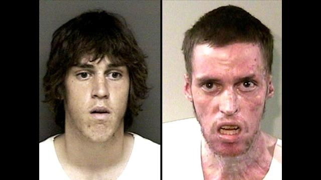 Pictured here is meth abuser Andrew at age 18 (left) and age 25. Description from archive.wtsp.com. I searched for this on bing.com/images