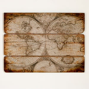Would be cool to somehow use this as a covering inside - Wood Wall Map   Wall Art and Decor  Home Decor   World Market: Wall Art, Decor, Idea, Wall Maps, Living Room, World Maps, Woods, Wood Walls