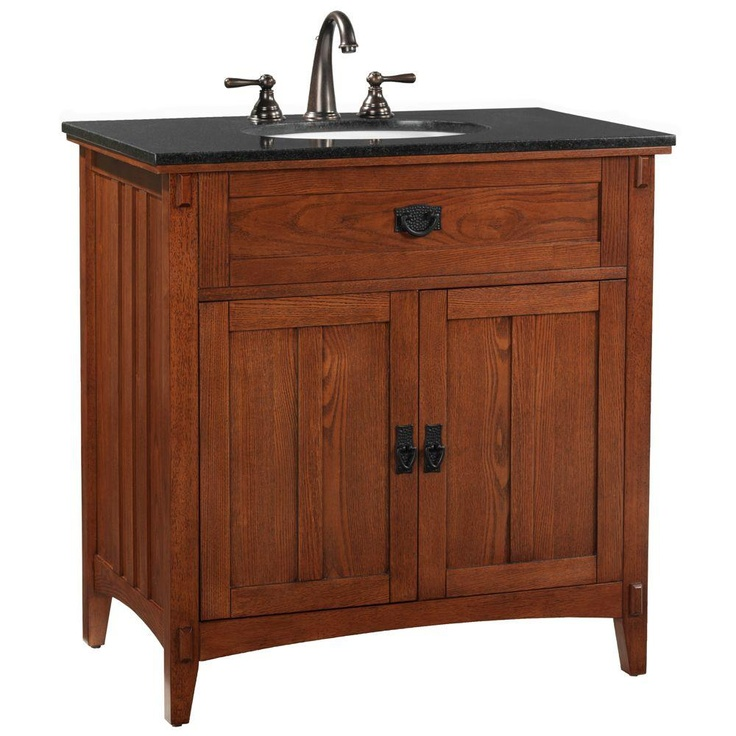 Love The Warm Color Plenty Of Storage Room Too Home Decorators Collection Artisan Sink