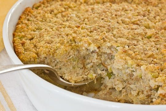 Everything I know about cornbread dressing—and Thanksgiving—I learned from my mother, which she in turn learned from her mother. It is a long line of resourceful Southern cooks, and I trust them with this important meal completely. The secret?