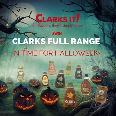 Win a Clarks Halloween Hamper worth over £50