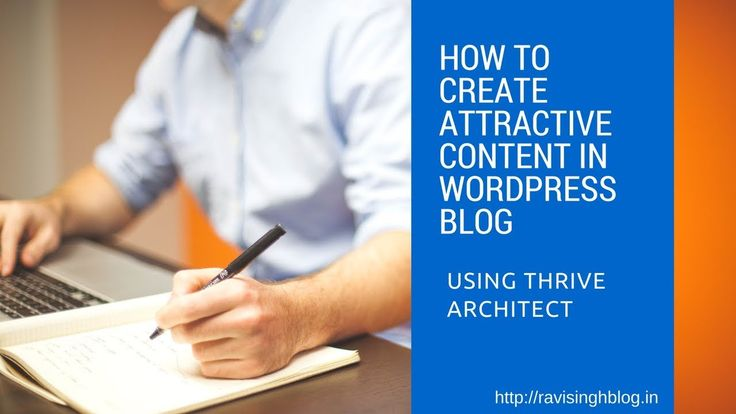 How I use Thrive Architect to create drag and drop content for my blog post. check this video tutorial https://youtu.be/jn0HWTX7WG8?utm_content=buffer2dcf4&utm_medium=social&utm_source=pinterest.com&utm_campaign=buffer
