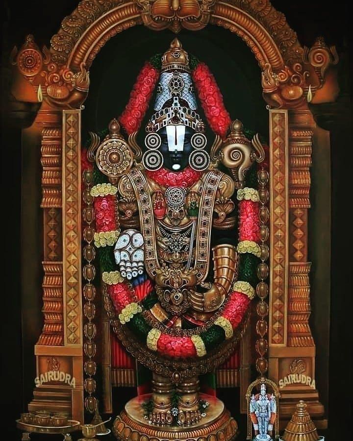 Lord Tirupati Balaji Images 50 Amazing Pictures Vedic Sources Lord Krishna Images Lord Murugan Wallpapers Lord Balaji