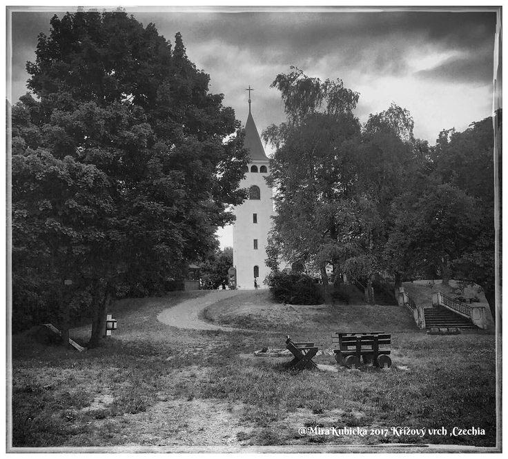 #krizovyvrch #hill #church #saint #santa #sculpture #garden #forest #history #heritage #myphoto #traveler #trip #travel #czechia #cesko #česko #ceskarepublika #czechrepublic #today #photo #photography #photos #2017