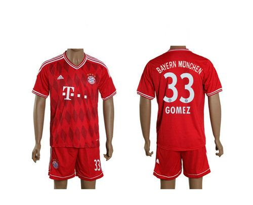 Maillot de Foot Bayern Munich (33 Gomez) Domicile Adidas Collection 2013 2014 rouge Pas Cher http://www.korsel.net/maillot-de-foot-bayern-munich-33-gomez-domicile-adidas-collection-2013-2014-rouge-pas-cher-p-2228.html