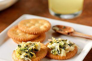 Collard Greens & Artichoke Spread recipe