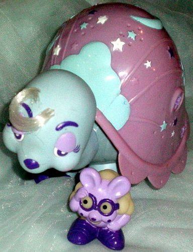 Keypers - I had a swan one but my sister had this snail...one of my all time FAVE toys!