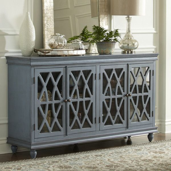 Birch Lane Colgrove Sideboard. The Design With Glass And