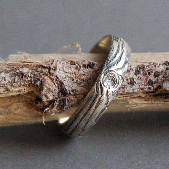 wood grain ring #etsy