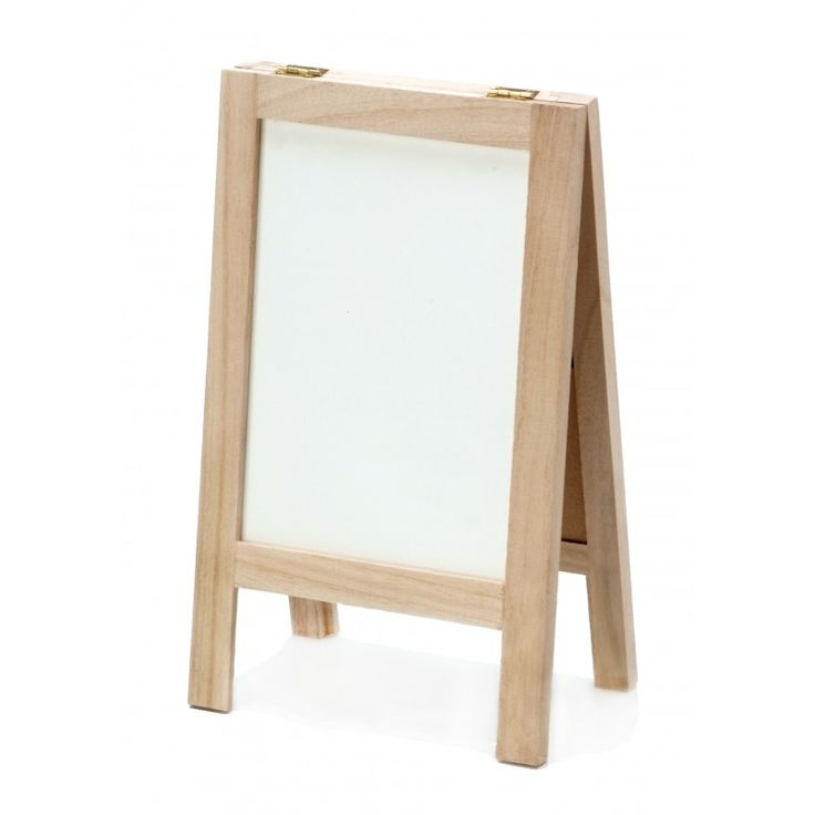 Tabletop Blackboard & Dry Erase-Easel - easy to store, easy to transport and can be easily updated for different events.   | Creative Bag