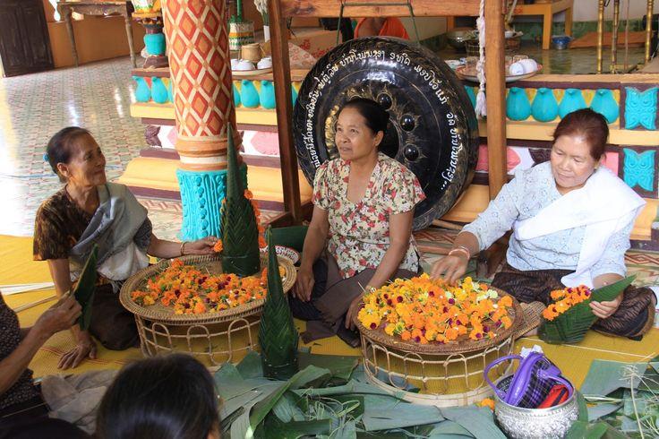 Laos Centrale, la capitale Ventiane: Tempio di Ponsong