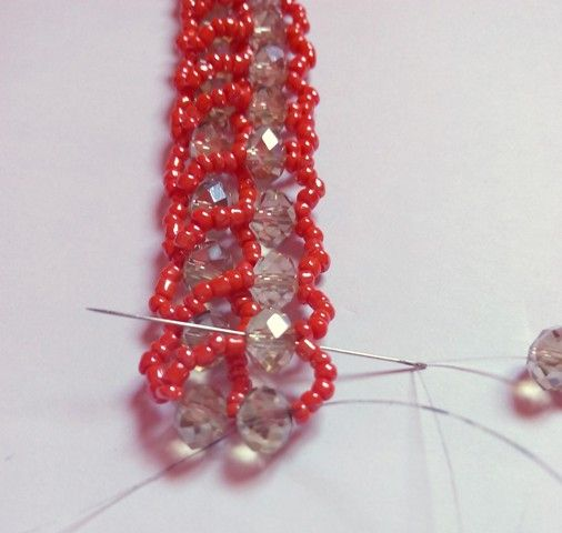 Beadination: The new Abuja connection beaded necklace technique