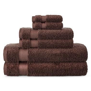 Luxury 100% Egyptian Cotton Loops, 670 gsm, 6-pc. Bath Towel Set- Color: Brown #bath #towels #bathtowels #towelselfie #spa #spalife #spalifetsyle #beauty #salon #beautysalon #yoga #inspiration #yogainspiration #meditation #towelsarelife #taylorswift #toomanyhashtags