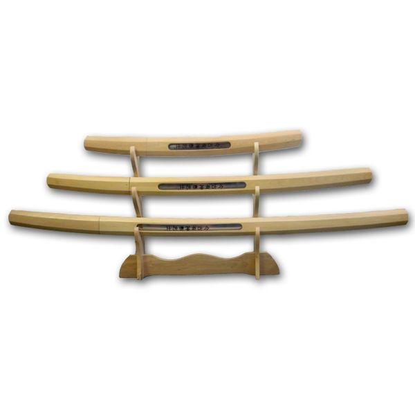Natural Wood Katana Set now available at http://www.karatemart.com/