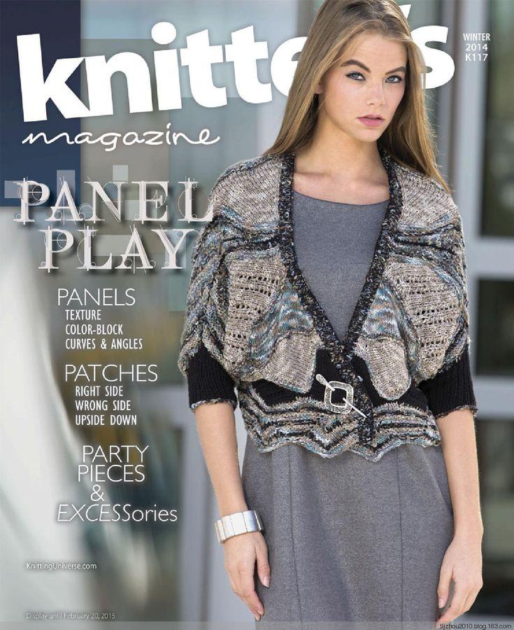Knitters Magazine 2014 冬 - 紫苏 - 紫苏的博客