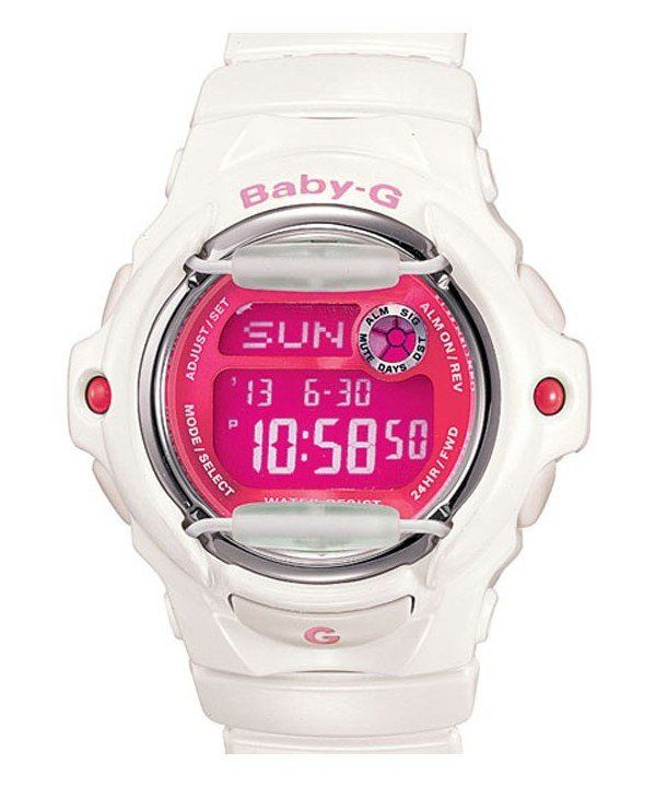 Casio Baby-G World Time BG-169R-7D Womens Watch