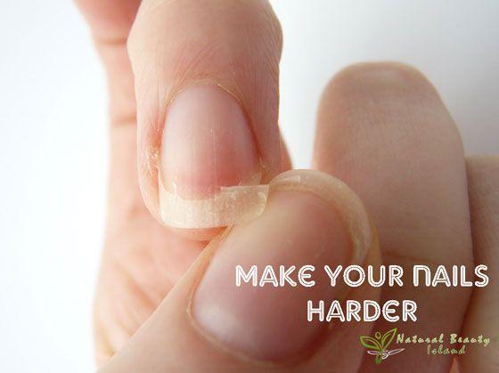 Make your nails harder