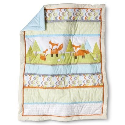 Circo 4pc Crib Bedding Set Woodland Trails Babies