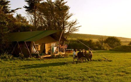Glamping on the Isle of Wight Toms Eco Lodge