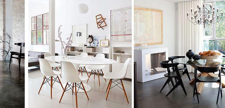 Comedores familiares con mesa redonda - http://www.decoora.com/comedores-familiares-con-mesa-redonda.html