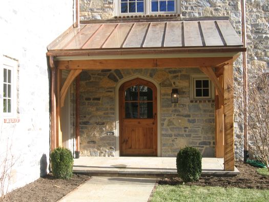 Back Porch Designs | The Front And Back Porch - Timberframing by Methods & Materials ...