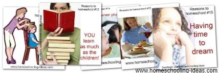 10 Reasons to Homeschool and  5 extra Reasons more...