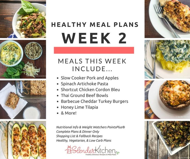 Healthy Meal Plans Week 2: Sticking With It (30% Off Until Sunday!)