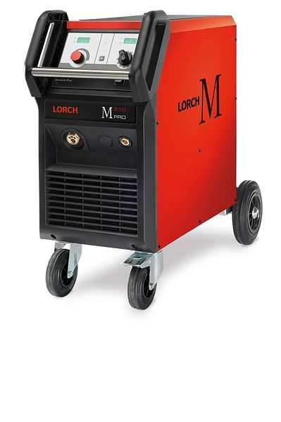 LORCH M Pro 252 Mig Welding Machine This Mig welding machine will cut down on spatter Single Phase 240volt - max current draw 22 amp Synergic buy securely online from wasp supplies ltd