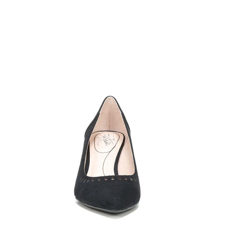 Lifestride Women's Sevyn 2 Medium/Wide Pump Shoes (Black Fabric)