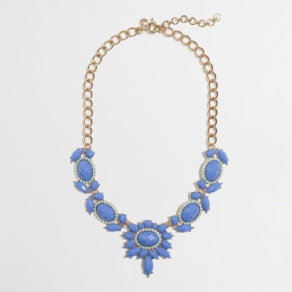 Factory jeweled sundrop necklace (76 RON) ❤ liked on Polyvore featuring jewelry, necklaces, jeweled necklace, beaded necklaces, beading necklaces, j crew jewelry and steel jewelry