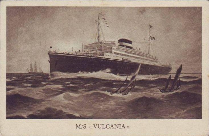 'Vulcania' - Cosulich - 1928