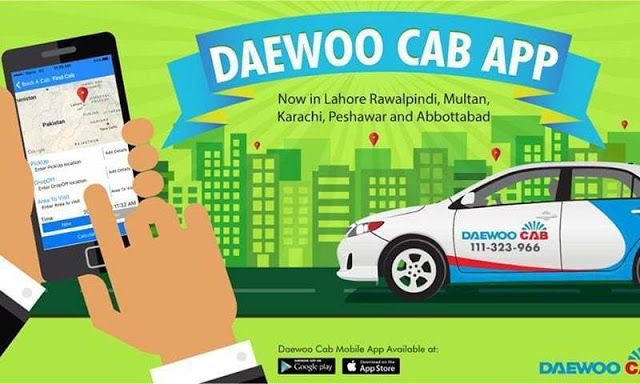 Daewoo introduces ride sharing app    The ride-sharing apps Oubrou and cream in Pakistan's popularity is growing rapidly but still had a tough opponent in front of Daewoo for them.  Pro Pakistanireportswill remember you as the cab services that were available in very low concentrations and had to rely on taxis before the Oubrou and cream.  In this period Daewoo was one of the main cab services and the company ride sharing services market has also decided to contribute in this regard has…