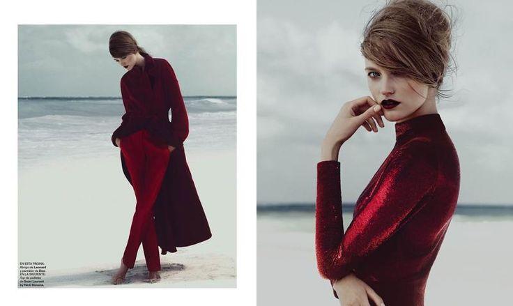 Bandera roja (Harper's Bazaar Spain)