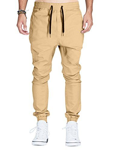 Italy Morn Mens Casual Trousers Drop Crotch Joggers Chinos Sweatpants L Khakis Italy Morn http://www.amazon.com/dp/B00ZHAR3RG/ref=cm_sw_r_pi_dp_9kYSwb1CEQQY7