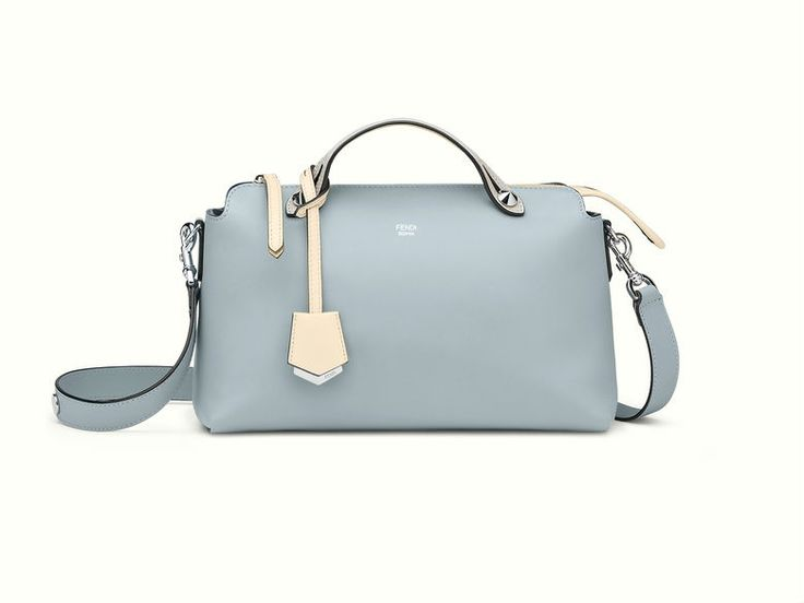 The Fendi By The Way mini bag in powder blue.