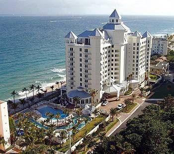 Ft. Lauderdale, FL Pelican Grand Beach Resort  My favorite hotel . . . so far . . .