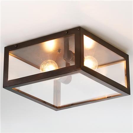 Modern Industrial Ceiling Light (living room)