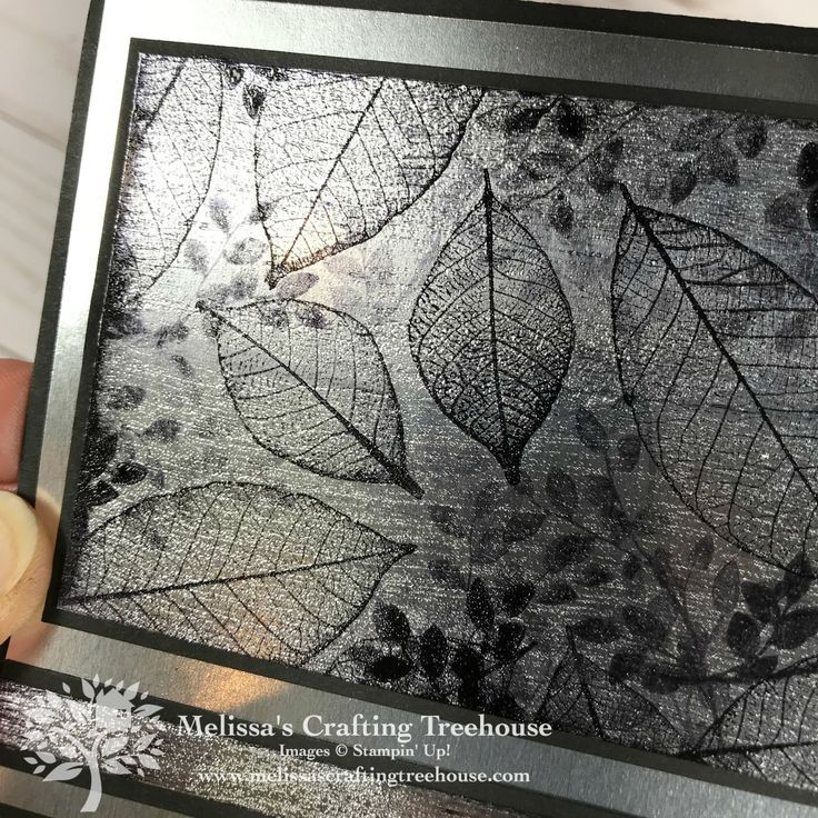 Embossing Art With Foil Sheets Rubber Stamping Techniques