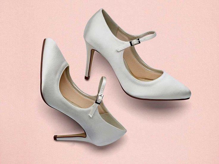 Hana - Mary Jane Satin Shoes