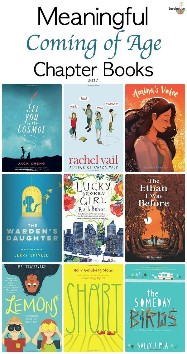11 Moving Coming of Age Books | Imagination Soup