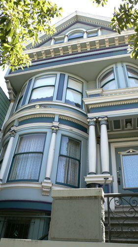 Victorian House Colors Cole Valley Victorian Facade